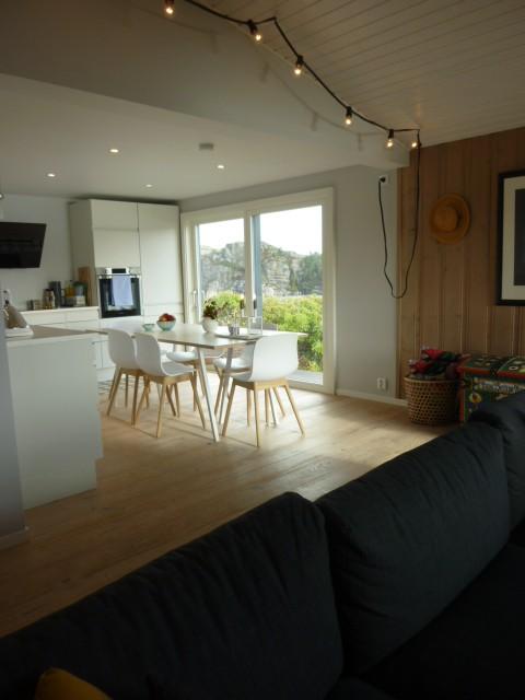 kjøkken stuen