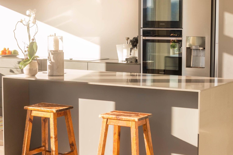 Nybygg: Kjøkken på Helldal
